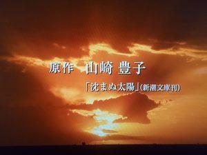『沈まぬ太陽』