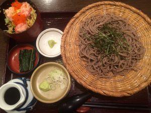 『蟹ちらしご飯定食』